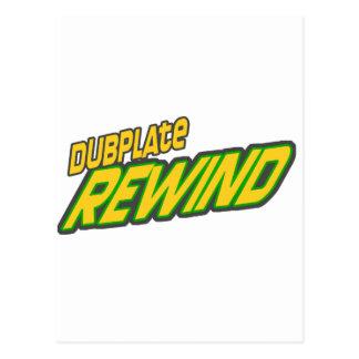 Dubplate Rewind Dub Postcard