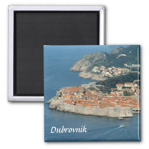 Dubrovnik 2 Inch Square Magnet