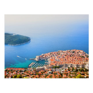 Dubrovnik Aerial View Post Cards