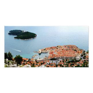 Dubrovnik and Lokrum Photograph