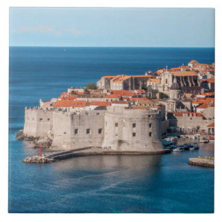 Dubrovnik, Croacia Azulejo Cuadrado Grande