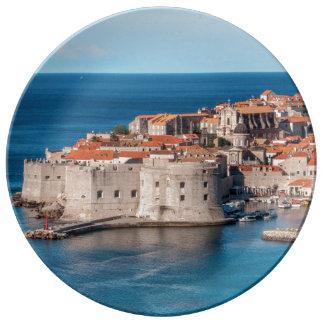 Dubrovnik, Croacia Platos De Cerámica