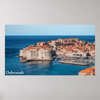 Dubrovnik, Croacia Póster