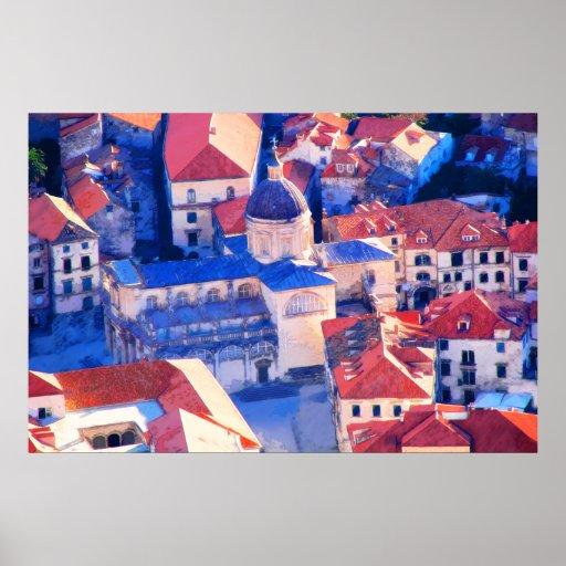Dubrovnik, Croatia 282 Poster