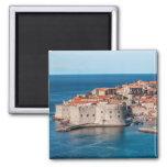 Dubrovnik, Croatia 2 Inch Square Magnet
