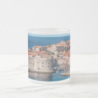 Dubrovnik, Croatia Frosted Glass Coffee Mug