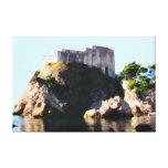 Dubrovnik - Croatia - Lovrijenac 2 Stretched Canvas Prints
