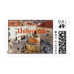 Dubrovnik Croatia old town postage stamp