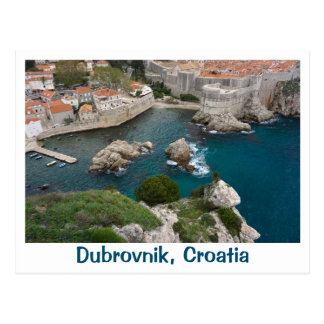 Dubrovnik from Above Postcard
