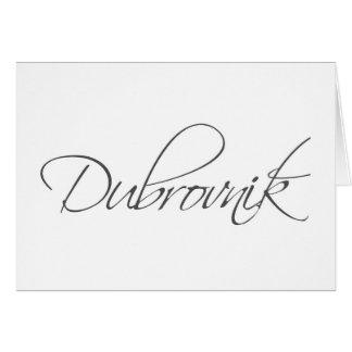 Dubrovnik Greeting Card