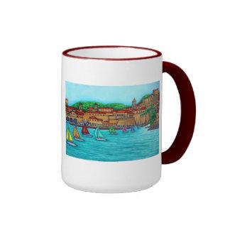 Dubrovnik Regatta Mug by Lisa Lorenz