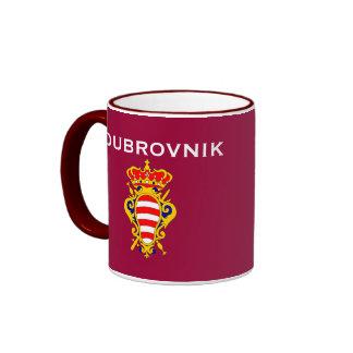 Dubrovnik, taza del escudo de armas de Croatia*