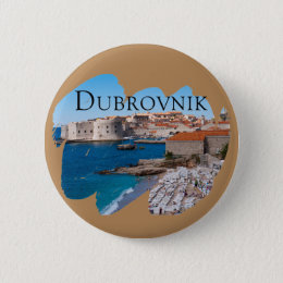 Dubrovnik with a View Button