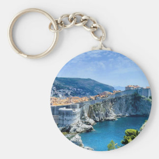 Dubrovnik's Old City Keychain