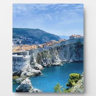 Dubrovnik's Old City Plaque