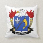 Dubs Family Crest Throw Pillow