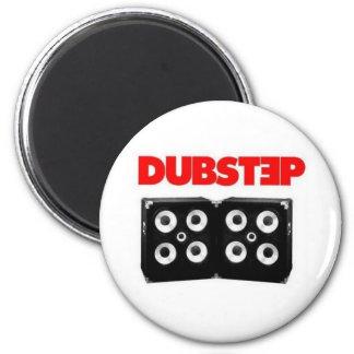 Dubstep 2 Inch Round Magnet