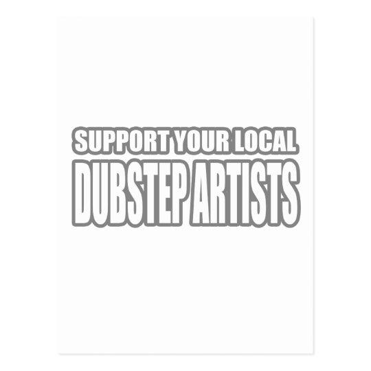 DUBSTEP ARTISTS POSTCARD