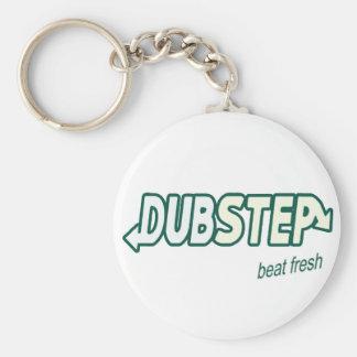 DUBSTEP beat fresh Basic Round Button Keychain