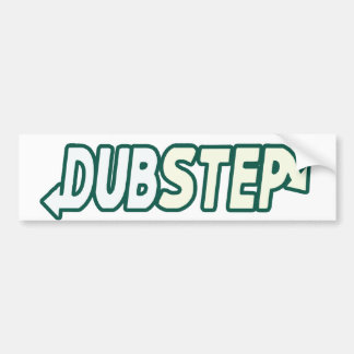 DUBSTEP beat fresh Bumper Sticker