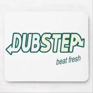 DUBSTEP Beat Fresh parody Mousepad