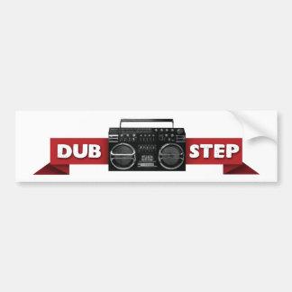 Dubstep: Blast It! Bumper Sticker