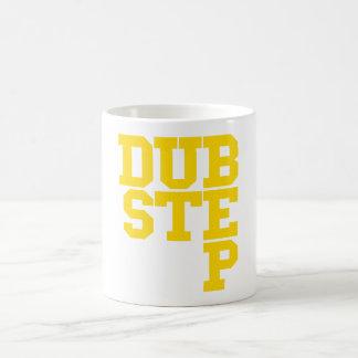 Dubstep Blockletter (Gold) Coffee Mug