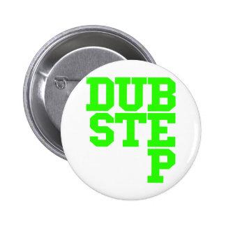 Dubstep Blockletter (Lime) Button