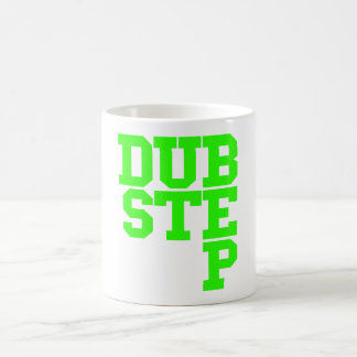 Dubstep Blockletter (Lime) Coffee Mug