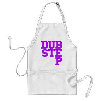 Dubstep Blockletter (Purple) Adult Apron