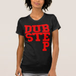 Dubstep Blockletter (rojo) Camiseta