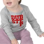 Dubstep Blockletter (rojo) Camisetas