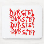 Dubstep Blood Repeat Mouse Pad