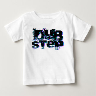 Dubstep Blue and Pink Baby T-Shirt
