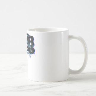 Dubstep Blue and Pink Coffee Mug