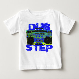 Dubstep Blue Boombox Baby T-Shirt