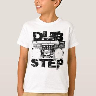 Dubstep Boombox negro Playera