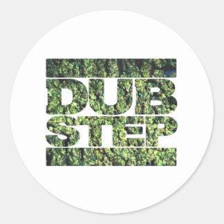 DUBSTEP Buds Dubstep music Classic Round Sticker