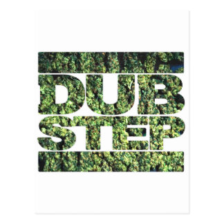 DUBSTEP Buds Dubstep music Postcard