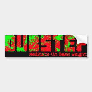 Dubstep Bumper Sticker Car Bumper Sticker