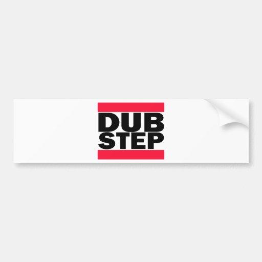 Dubstep Car Bumper Sticker