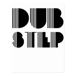 Dubstep Classic Postcard