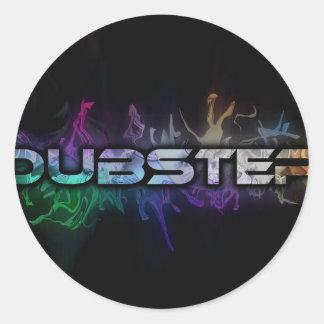 DubStep Classic Round Sticker