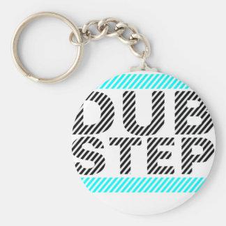 Dubstep Cyan Keychains