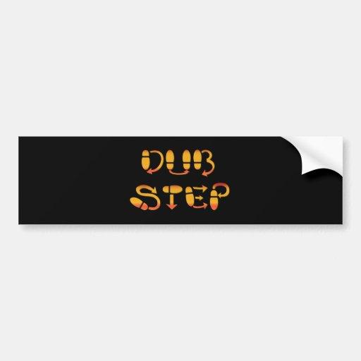 Dubstep Dance Footwork Bumper Stickers