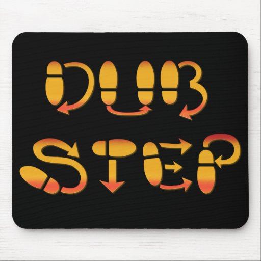 Dubstep Dance Footwork Mouse Pad