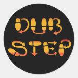 Dubstep Dance Footwork Stickers