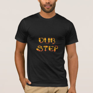 Dubstep Dance Footwork T-shirt at Zazzle