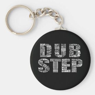 Dubstep Dark Keychain