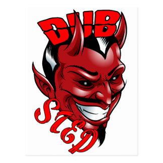 Dubstep Devil Postcard